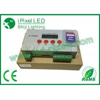 Wholesale DC5V-24V Input Voltage LED Pixel Controller 3W 2048pixels SD Controller K-1000C from china suppliers