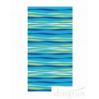 Buy cheap Soft Velour Over Sized Luxury Jacquard Beach Towel  Large Size Bath towel from wholesalers