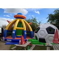 Wholesale Commercial Kids Bouncy Castle Inflatable , Bouncy Castle PVC Logo Printing from china suppliers