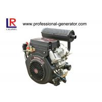 Wholesale 20HP Air Cooled Diesel Powered Engine V Twin , 4 Stroke Electric Start from china suppliers