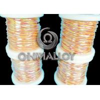 Quality 20 AWG Type K Thermocouple Compensating Cable 600 Degree Insulation Material for sale