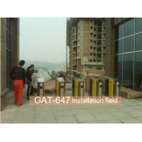 Security fastlane 0.5s Open Time turnstile channel auto counting available rfid access control barrier swing gate