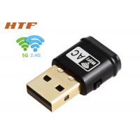 Wholesale 433Mbps + 150MbpsUSB 2.0 Mini Dual Band Wireless AC Network WiFi Adapter 2.4G + 5.8G from china suppliers