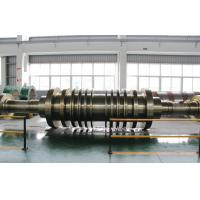 Wholesale GB/T3077-1999 30Cr1Mo1V, 25Cr2Ni4MoV Forged Steel Shaft Steam Turbine Rotor Forging from china suppliers