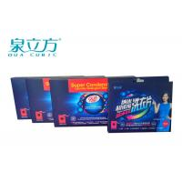 Wholesale Travel Washing Powder Sheets For Cotton Clothes , Washing Powder Sheets For Cleaning Silk from china suppliers