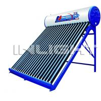 Wholesale 400L galvanized steel no pressure vacuum tube solar water heater from china suppliers