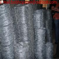 Buy cheap Double Twist Barbed wire length per roll/barbed wire fence/barbed wire price/barbed wire length per roll/barbed wire fen from wholesalers
