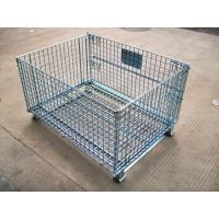 Wholesale Foldable Wire Mesh Pallet Cage  from china suppliers