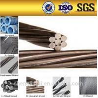 Wholesale STANDARD ASTM 416 /A416M 7 wire Low relaxation pc steel wire strand from china suppliers