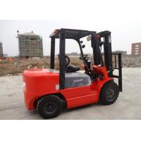 Wholesale Balance Weight Type Diesel Manual Forklift Truck With Triple Mast And Sideshift from china suppliers