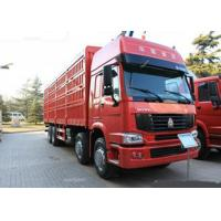 Wholesale 12 Wheels LHD Euro2 336HP Cargo Stake Body Truck / Livestock Container Truck from china suppliers