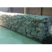 Wholesale Hexagonal Hole Storage Wire Gabion Baskets , River Protect Retaining Wall Cages from china suppliers