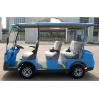 Wholesale Blue 4.0KW Motor Club 8 Seater Electric Car For 8 Person With Pure Electric Power from china suppliers