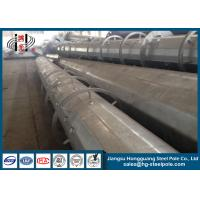 Wholesale 400 Kg Loading Octagonal Q345 Galvanized Electrical Steel Poles 30FT - 50FT from china suppliers