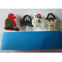 Wholesale Kids Happy Birthday Cake Candles Cartoon Sets With Pirate ISO Certificated from china suppliers