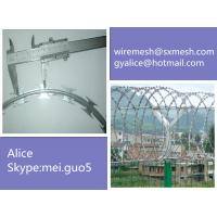 Wholesale ISO9001 razor wire fencing type for protection from china suppliers