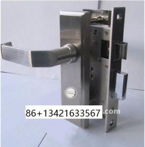 Quality cylinder bathroom door lock Cylinder Lock, 100% stainless steel 304 antirust for sale