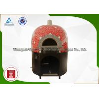 Wholesale Residential / Industrial Italy Pizza Oven Round With Natural Lava Rock Base Plate from china suppliers