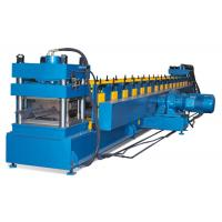 Quality Heavy Highway Guardrail Roll Forming Machine , Crash Barrier Highway Guardrail Roll Forming Machine for sale