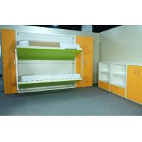 Wholesale Transformable Hidden Bunk Wall Beds mechanism for Space Saving , echo Friendly Material from china suppliers