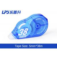 Quality Blue Colored Correction tape Large Capacity 5mm * 38m NO.T-9805 for sale