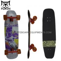 Wholesale xinda factory Foxen supply Longboard Silver Bird 32.35 7 layers canadian Drop Down skateboard from china suppliers