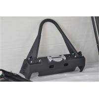 Wholesale Aluminum / Steel Jeep Wrangler Front Bumper With Black Powder Coated Steel from china suppliers