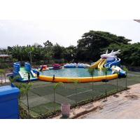 Wholesale Inflatable Shark Theme Inflatable Moving Park , Outdoor  Inflatable Water Slide Games from china suppliers