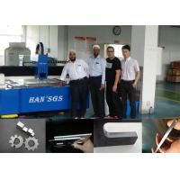 Wholesale Double Drive CNC Sheet Metal Cutting Machine With Imported Laser Source , Water Cooling from china suppliers