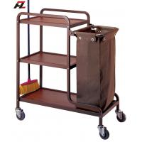 Wholesale Hotel Housekeeping Cleaning Trolley-Housemaid Trolley from china suppliers