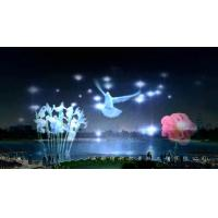 Buy cheap large water screen movie and laser fountains project with laser generator from wholesalers