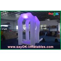 Quality Commerical Inflatable Money Booth Safe Oxford Cloth With Led Light for sale