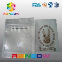 Wholesale Customized Logo Transparent Front Poly Zipper Bag For Electronic Packing from china suppliers