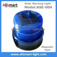 Wholesale Blue Solar Buoys Beacon Light With Magnet Emergency Instruction Magnetic Solar Lamp Temporary Cordon Light Model ASE-004 from china suppliers