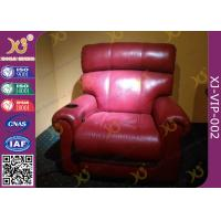 Wholesale Elegant Home Cinema Seating Furniture Movie Theater Sofa With Cup Holder from china suppliers