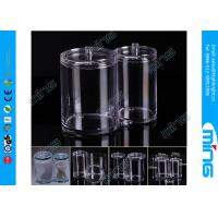 Quality Cotton Ball Swab Holder Clear Acrylic Display Stands for Stores for sale