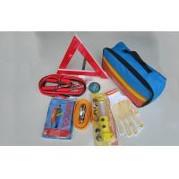 Wholesale Auto Emergency Tool Kits Emergency Roadside Kit With Rain Poncho , Fuse from china suppliers
