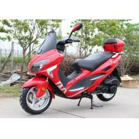 Wholesale Four Colors Gas Moped Scooter With Windshield CVT , Fast Speed Motor Scooter 150cc from china suppliers