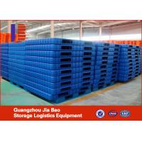 Wholesale 4-Ways Warehouse Plastic Pallet With High Capacity Standard from china suppliers