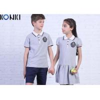 Wholesale Casual Customized Middle School Uniforms Polo Shirt And Dress from china suppliers