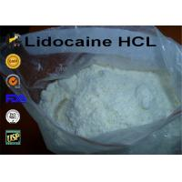 Wholesale 99% Purity 73-78-9 Lidocaine Hydrochloride / Lidocaine HCL Local Anesthetic Powder from china suppliers