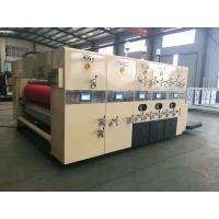 Wholesale Lead Edge Feeding Flexo Printing And Die Cutting Machine For Corrugated Cardboard from china suppliers