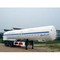 Wholesale 20000L-2 Axles-Cryogenic Liquid Lorry Tanker for Liquid Oxygen from china suppliers