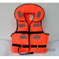 Wholesale New Working Life Vest Marine Life Jacket Foam Personal Floating Vest from china suppliers