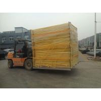 Wholesale Standard Temporary Fencing panels 14 microns hdg before welding 2100mm x 2400mm OD 32 pipes AS4687 from china suppliers