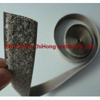 Wholesale Special Silver plated conductive anti electromagnetic radiation hook and loop from china suppliers