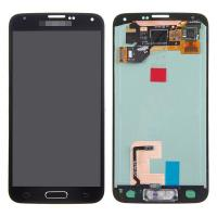 Wholesale For Samsung Galaxy S5 SM-G900/G900A/G900V/G900P/G900R4 LCD and Digitizer Assembly with Home Button - Black - Grade A+ from china suppliers