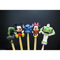 Wholesale Various Styles Disney Character Figures Bamboo Ear Pick For Souvenir from china suppliers