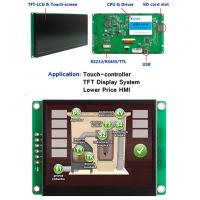 Quality Fast 32 Bit CPU LCD Touch Screen Repalce HMI PLC For Industry Control for sale