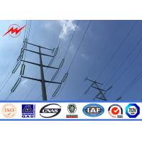 Wholesale 40FT NGCP Steel Utility Pole 3mm GR65for 55KV Power Distribution from china suppliers